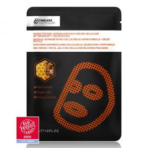 Bee Venom + Royal Jelly Bio-Cellulose Rejuvenating Mask