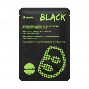 TIMELESS CONTROL CLARIFYING BLACK CHARCOAL MASK